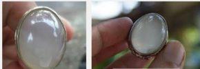Batu Embun Pagi ( Natural Chalcedony ) Khasiat dan Harganya