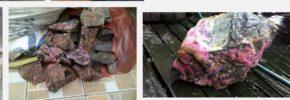 Gambar Bongkahan Batu Akik Yang Belum Dibuat