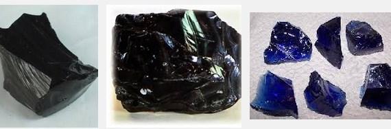 Gambar Batu Akik Obsidian Hitam dan Biru Via Google.co.id