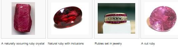 Batu Ruby Merah Delima
