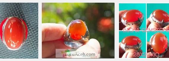 Batu Cempka Merah Tomat Aceh