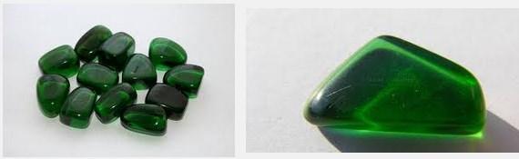 Batu Akik Hijau Botol Kalimantan