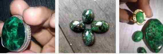 Batu Akik Bulu Merak