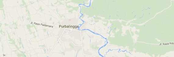 Peta Sungai Klawing Purbalingga Jawa Tengah