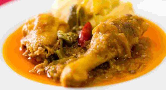 Ayam Muamba ( Chicken Muamba )
