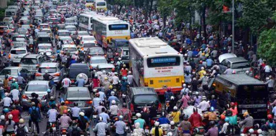 Gambar Kemacetan di Jakarta Yang Parah