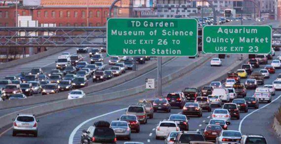 Kemacetan di Kota Boston