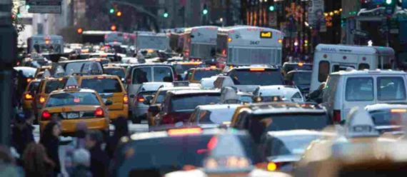 Kemacetan di Kota New York