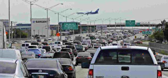 Kemacetan di Miami