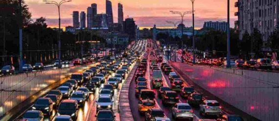 Kemacetan di Moscow