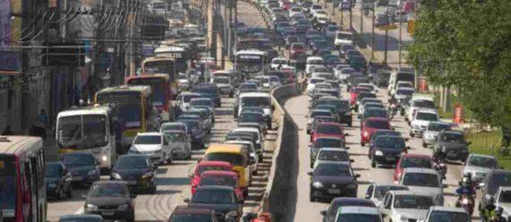 Kemacetan di Sao Paulo