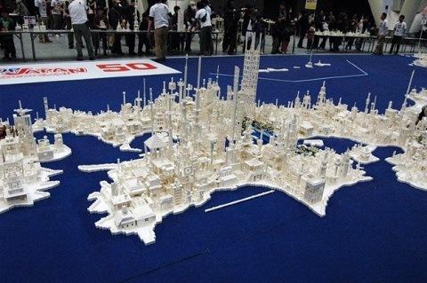Peta Kota Dari Lego