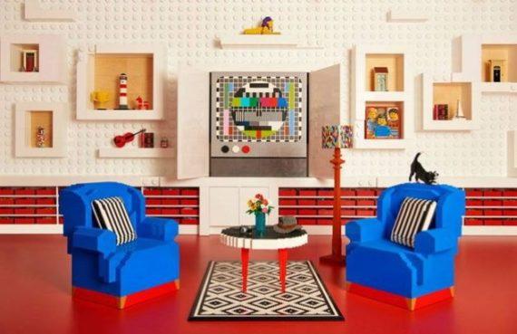 Rumah Terbuat Dari Lego