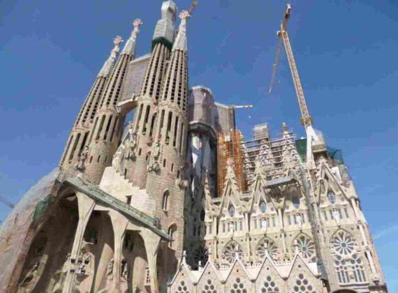 La Sagrada Familia - Barcelona, Spanyol