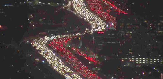 Los Angeles Sebagai Kota Termacet di Dunia