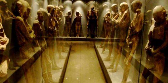 Museum Mummy di Meksiko