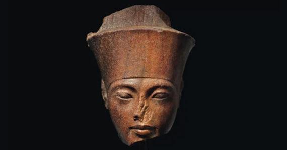 Lelang Patung Raja Tutankhamen