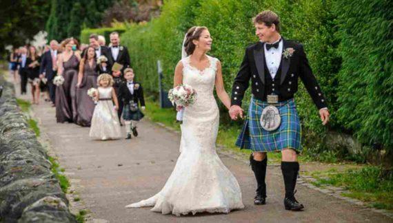 Pernikahan di Skotlandia