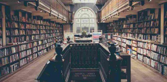 Perpustakaan Dengan Konsep Unik