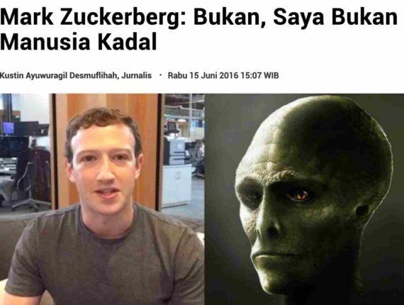 Teori Konspirasi Manusia Kadal