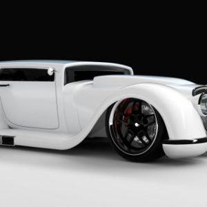 mobil dengan desain aneh